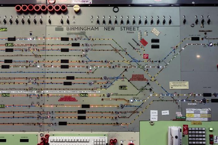 Icb Inside New Street Signal Box