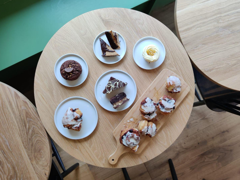 Coffees and Cakes and Collaborations, Oh My!