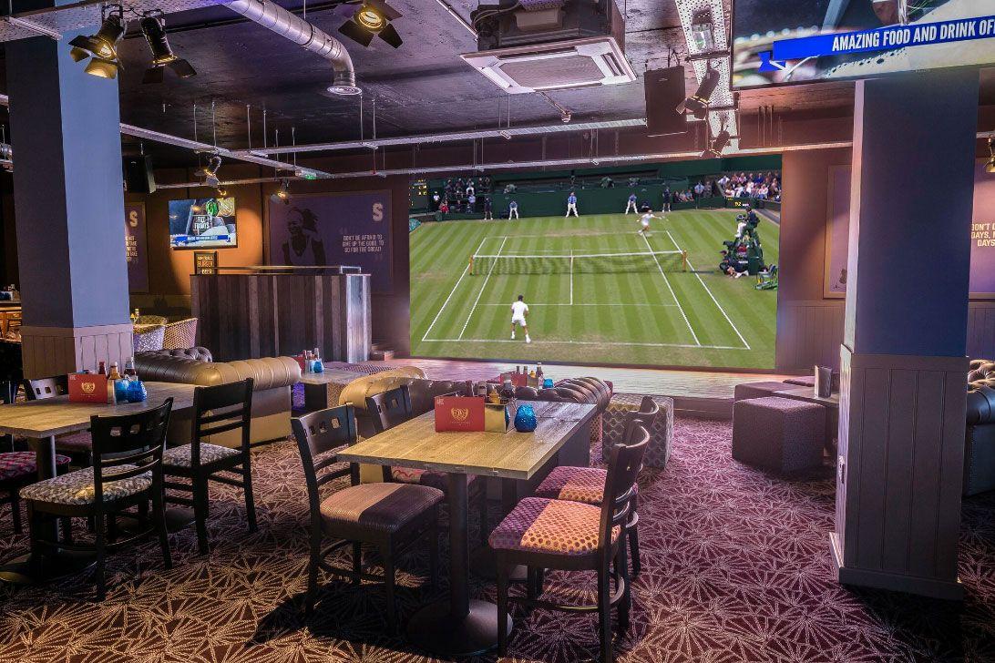 Tennis in Big