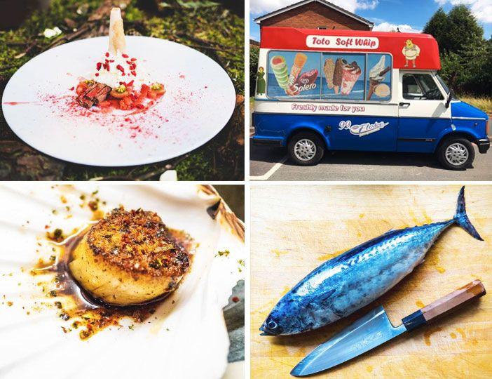 Sushi, Scallops and Sticking an Ice Cream Van in Harvey Nics