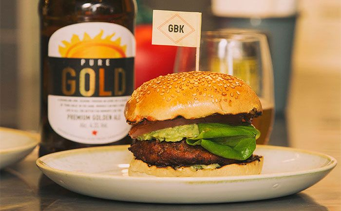 Purity Brewery's Burger and Beer Pairing